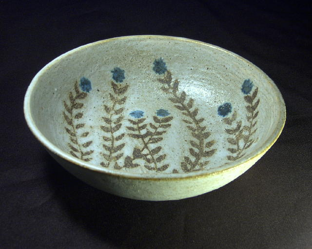 Anderson Wildflower Bowl 70s