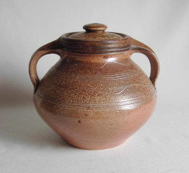 Mark Hewitt Lidded Vessel