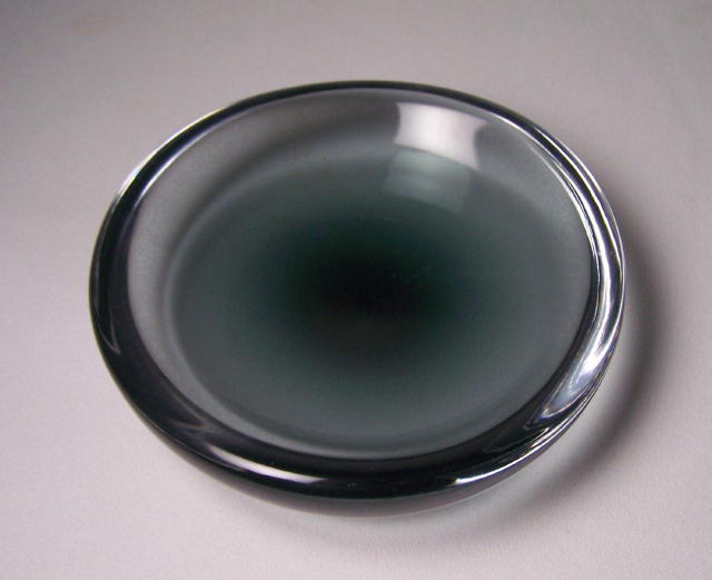 Sven Palmquist Midnight Blue Shallow Bowl