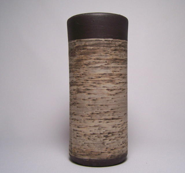 Jaap Ravelli Early Oil Bark Vase