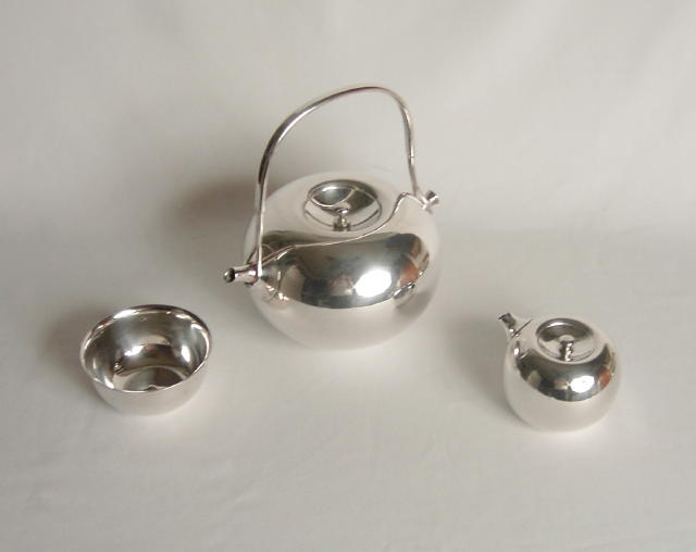 Dansk Silver-Plated Torun Tea Set